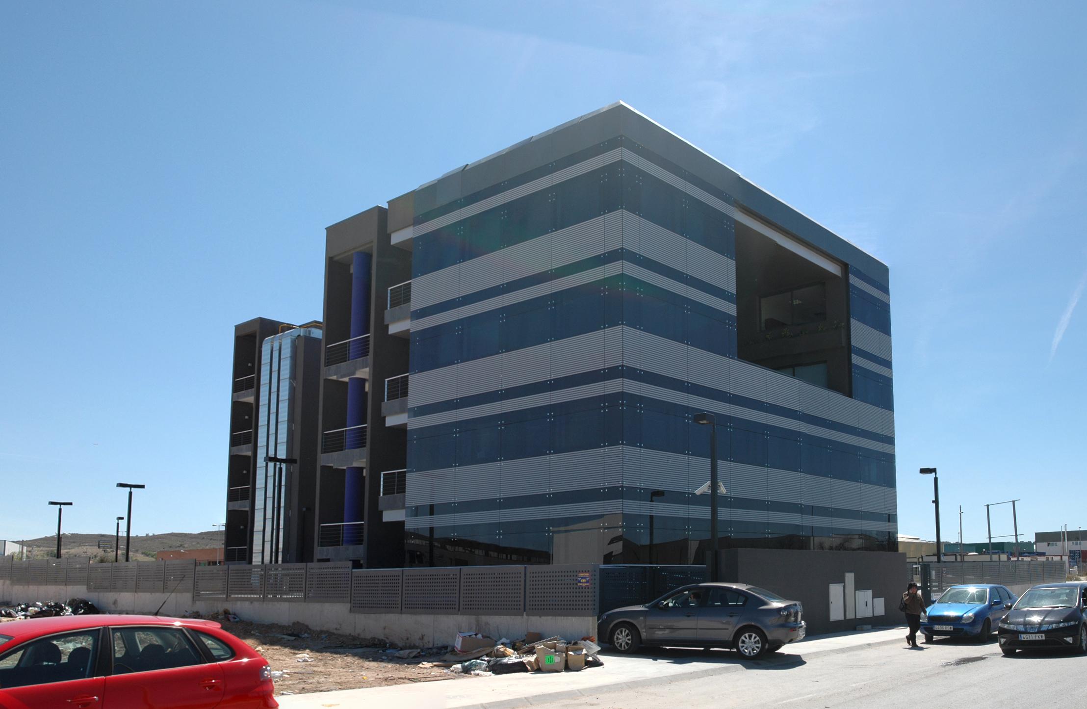 Edificio de oficinas para multinacional en arganda laz for Edificio oficinas