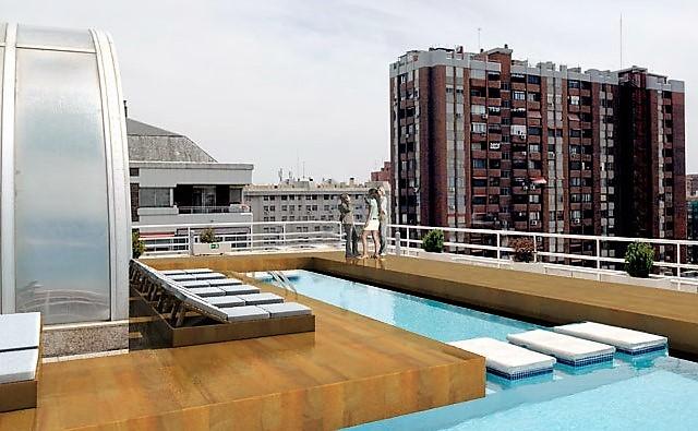 Propuesta De Diseño De Terraza En Eurobuilding Laz