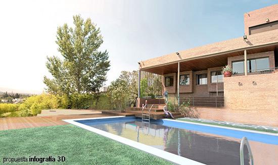 Propuesta De Diseño De Terraza En Vivienda Unifamiliar Laz