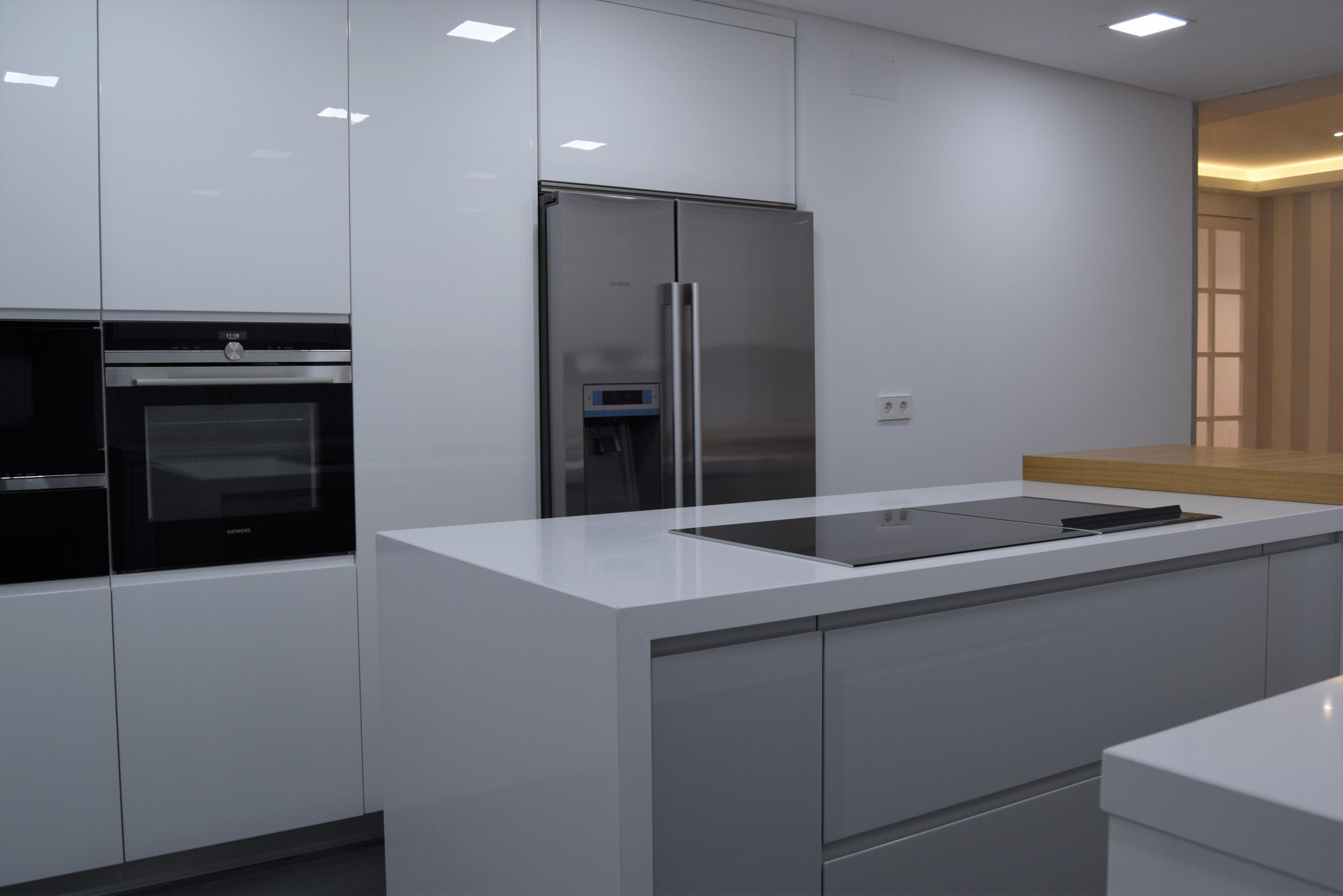 Reforma de vivienda en pintor rosales laz arquitectura - Trabajos de pintor en madrid ...